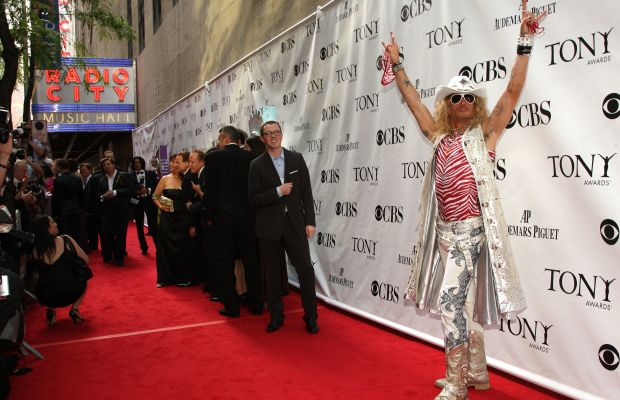"Actor James Carpinello in his ""Rock of Ages"" costume in 2009. Photo: Bryan Bedder/Getty Images"