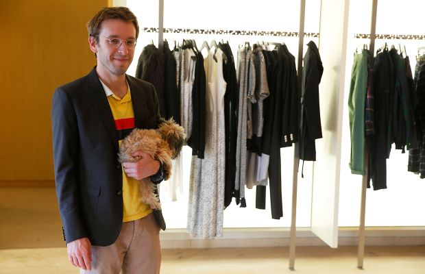 Band of Outsiders founder Scott Sternberg in 2014. The label recently cancelled all of its fall orders and closed its New York flagship. Photo: Joe Scarnici/Stringer/Getty Images