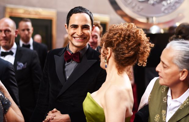 Zac Posen at the Tony Awards with Bernadette Peters. Photo: Andrew H. Walker/Getty Images