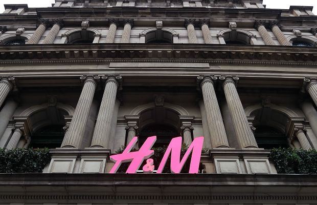 An H&M store in Australia. Photo: Graham Denholm/Getty Images