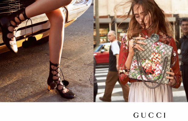 From Gucci's fall 2015 ad campaign.