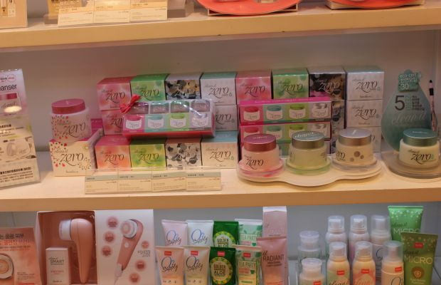 The drool-worthy cleansers at Banila Co. Photo: Cheryl Wischhover/Fashionista