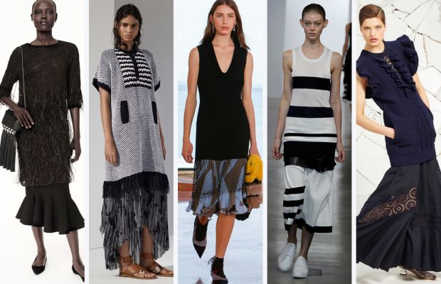 From left to right: Zac Posen, Thakoon, Suno, Calvin Klein and Stella McCartney. Photos: Courtesy