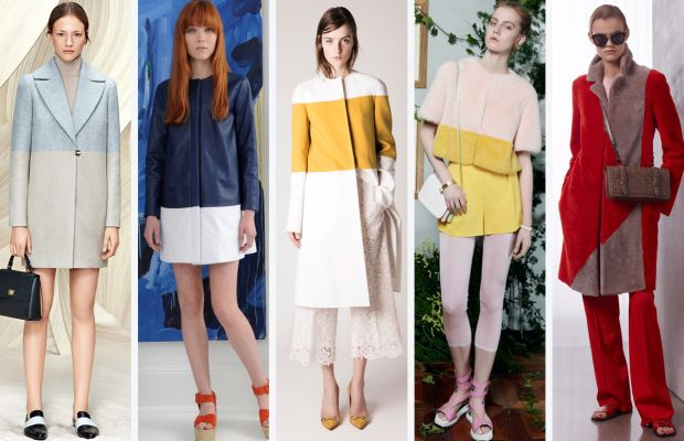 From left to right: Boss, Lisa Perry, Rochas, Vionnet and Bottega Veneta. Photos: Courtesy