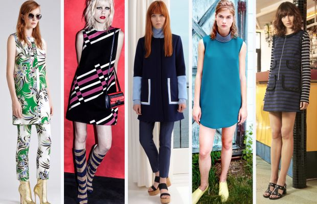 From left to right: Just Cavalli, Lanvin, Lisa Perry, Organic by John Patrick and Sonia by Sonia Rykiel. Photos: Courtesy
