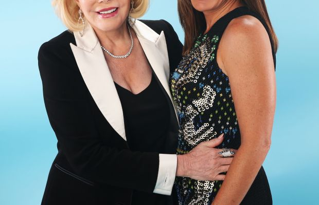 Joan and Melissa Rivers in 2013. Photo: Christopher Polk/Getty Images