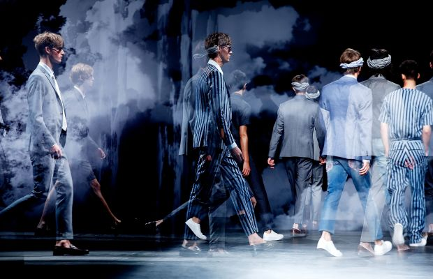 A runway from London Collections Men SS16. Tristan Fewings/Getty Images.