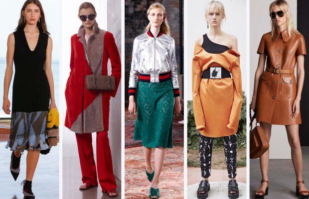 From left to right: Suno, Bottega Veneta, Gucci, MM6 Maison Margiela and Michael Kors. Photos: Courtesy