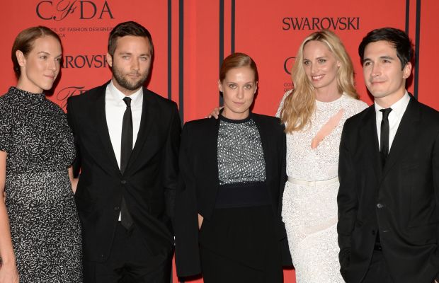 Shirley Cook, Jack McCollough, Victoria Traina, Lauren Santo Domingo and Lazaro Hernandez at the 2013 CFDA Fashion Awards: Photo: Andrew H. Walker/Getty Images