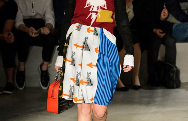 A look from Prada (not Coach)'s resort 2016 collection. Photo: Imaxtree