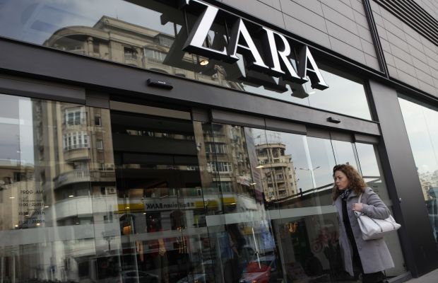 A Zara store in Bucharest, Romania. Photo: Sean Gallup/Getty Images