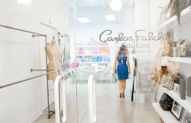 Carlos Falchi's New York City headquarters, where bags are designed and manufactured. Photo: Elyssa Maxx Goodman for Style Solutions NYC