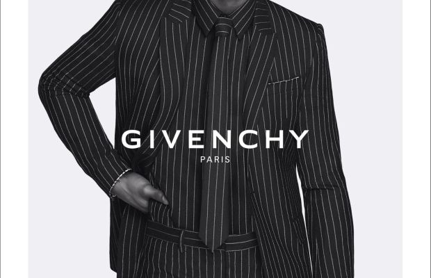 Victor Cruz in the fall 2015 Givenchy campaign. Photo: Givenchy