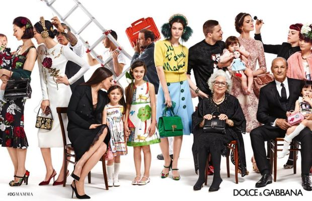 Dolce & Gabbana's fall 2015 campaign. Photo: Dolce & Gabbana