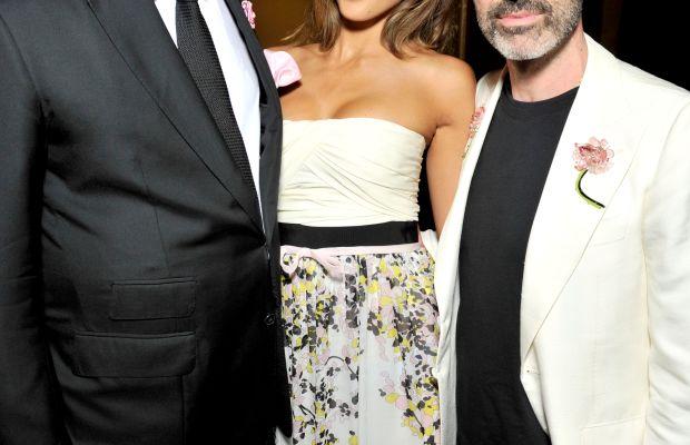 John Demsey, Jessica Alba and Giambattista Valli. Photo: Giambattista Valli