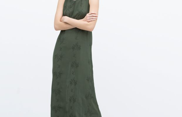 Zara dress, now $39.99, available at Zara.
