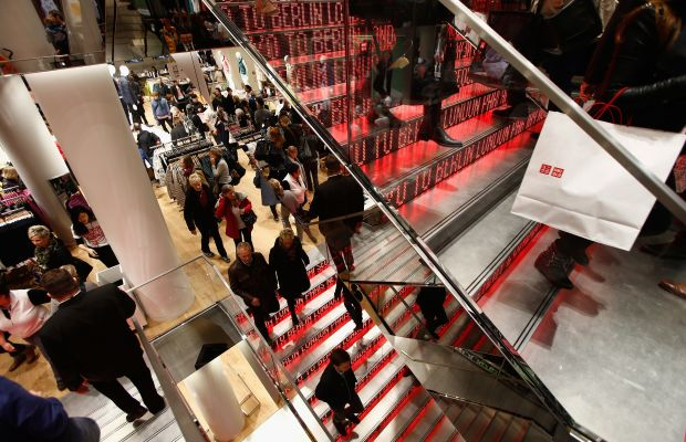 A Uniqlo store in Berlin. Photo: Andreas Rentz/Getty Images