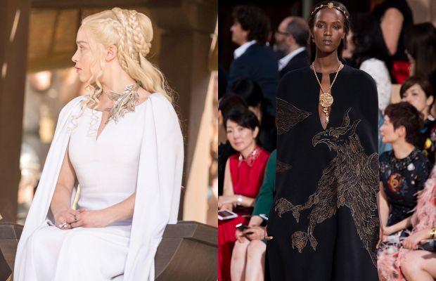 Daenerys's signature sleeves. Photos: HBO/Imaxtree