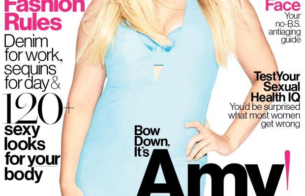 The August issue of 'Glamour.' Photo: Matt Irwin/Glamour