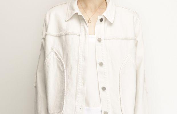 Rachel Comey Dirty White Parade Jacket, $408, available at Totokaelo.