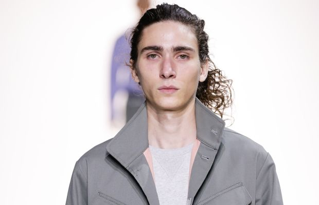 At the Tim Coppens show.  Photo: J.P. Yim/Getty Images