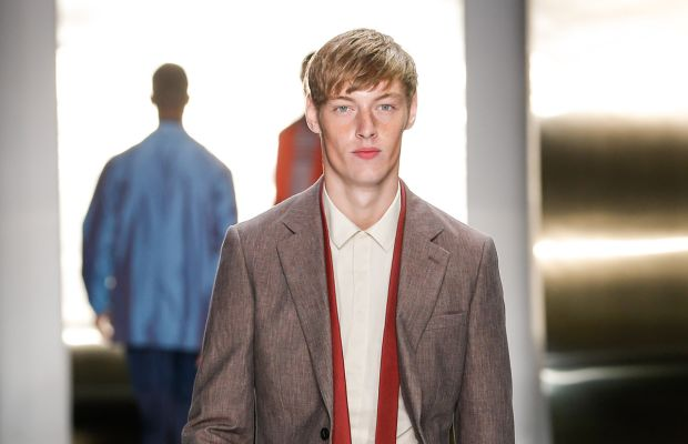 At the Perry Ellis show. Photo: Thomas Concordia/Getty Images