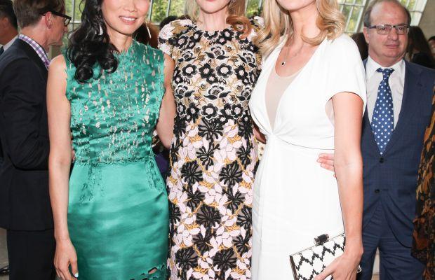 Wendi Murdoch, Kidman and Ivanka Trump. Photo: Vogue