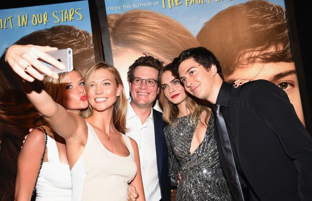 """Kloss at the premiere of """"Paper Towns."""" Photo: Dimitrios Kambouris/Getty Images"""