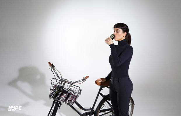 Kim Kardashian channels Audrey Hepburn in all-black getup. Photo: Hype Energy.