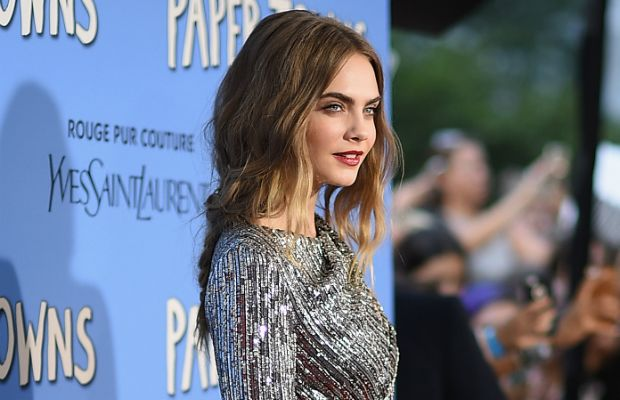 Cara Delevingne ''Paper Towns''s New York premiere. Photo: Dimitrios Kambouris/Getty Images