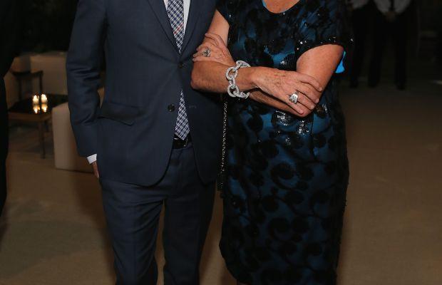 Steven Kolb and Diane von Furstenberg. Photo: Neilson Barnard/Getty Images