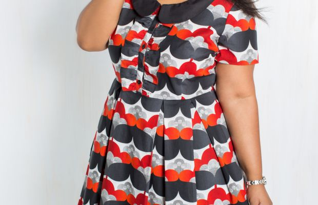 A dress from ModCloth's new in-house line. Photo: ModCloth.