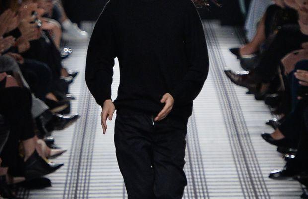 Alexander Wang at Balenciaga's fall 2015 show. Photo: Imaxtree