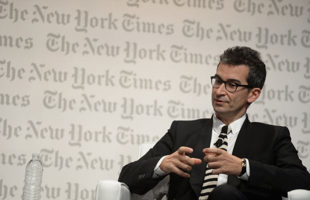 Yoox CEO Federico Marchett. Photo: Gustavo Caballero/Getty Images for The New York Times International Luxury Conference