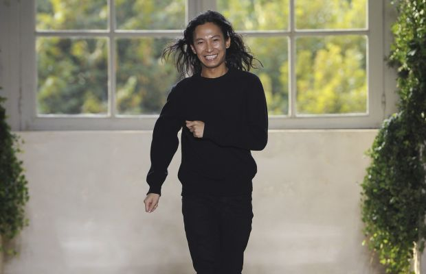 Alexander Wang at Balenciaga's spring 2014 ready-to-wear show in Paris. Photo: Imaxtree