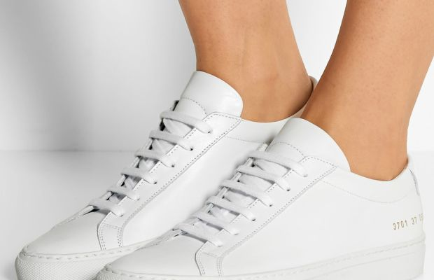 """Common Projects """"Original Achilles"""" sneakers, $410, available at Net-A-Porter."""