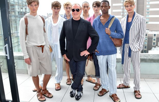 Michael Kors presents at New York Fashion Week: Men's. Photo: Michael Kors/Getty Images