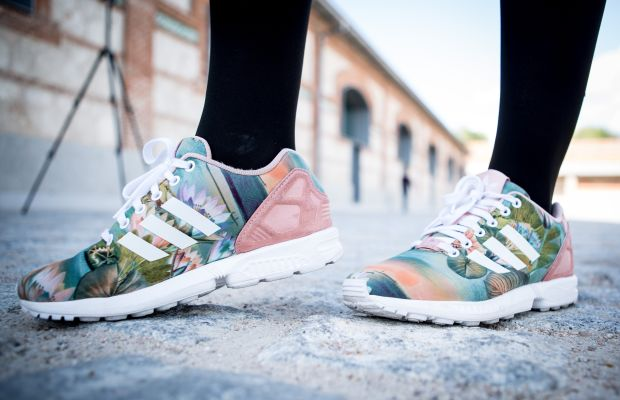 Adidas's fashion sneakers, so hot right now. Photo: Pablo Cuadra/Getty Images