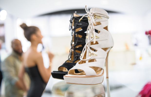 Shoes from Zendaya's new collection. Photo: Daya by Zendaya