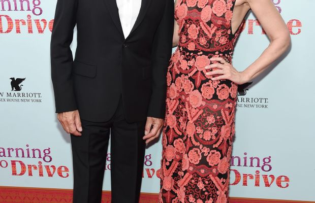 Sir Ben Kingsley and Patricia Clarkson. Photo: Jamie McCarthy/Getty Images