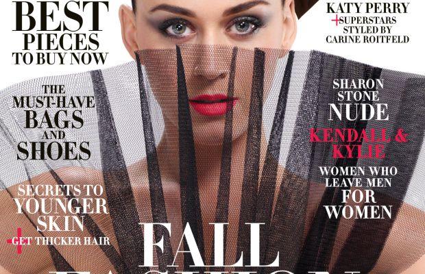 Katy Perry on 'Harper's Bazaar.' Photo: Jean Paul Goude/Harper's Bazaar