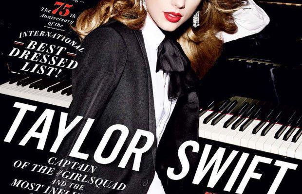 Taylor Swift on 'Vanity Fair.' Photo: Mario Testino/Vanity Fair.