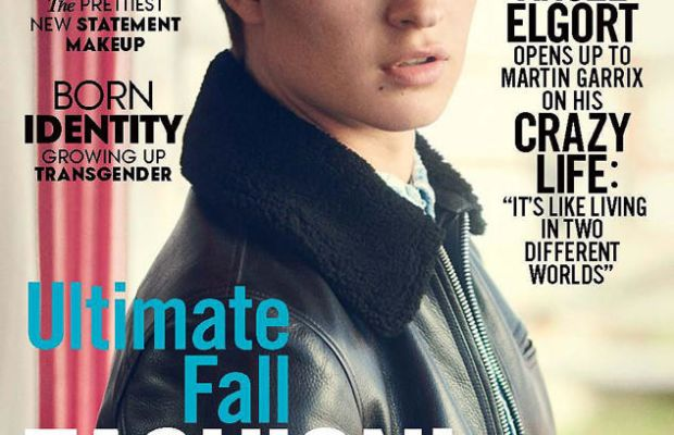 Ansel Elgort on 'Teen Vogue.' Photo: Boo George/Teen Vogue