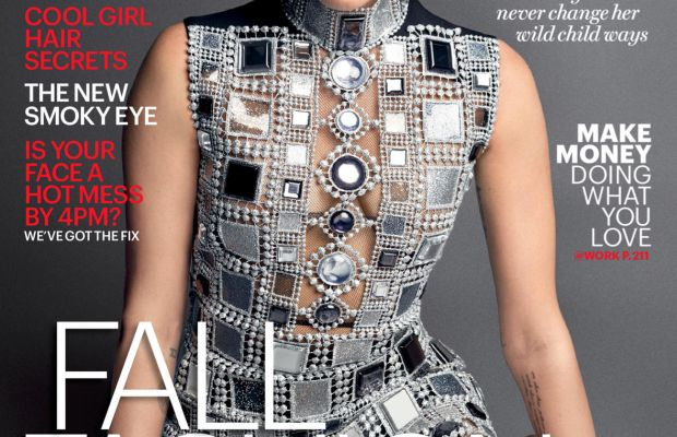 Miley Cyrus on 'Marie Claire.' Photo: Mark Seliger/Marie Claire