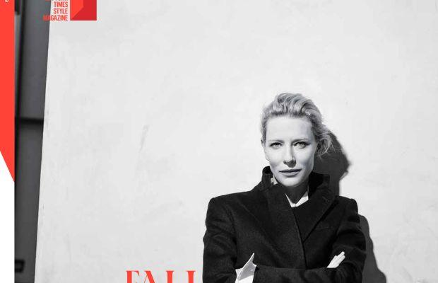 Cate Blanchett on 'T.' Photo: Karim Sadli/T