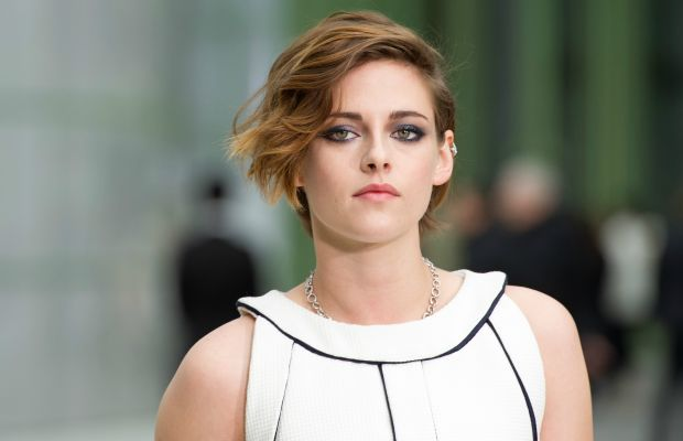 Kristen Stewart at Chanel's spring 2015 couture show in Paris. Photo: Kristy Sparow/Getty Images
