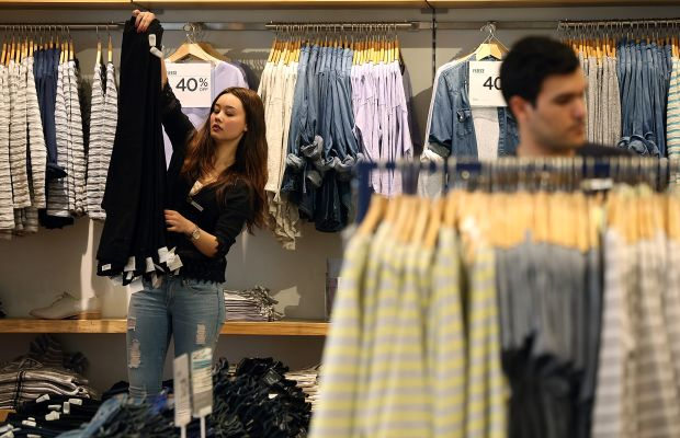 A Gap store. Photo: Justin Sullivan/Getty Images