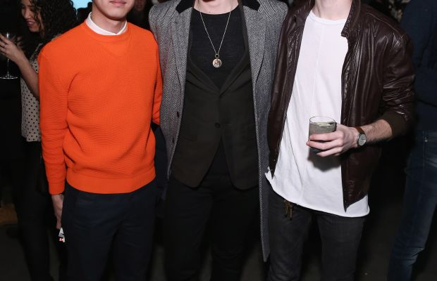 Imboden, center, at Rag & Bone's fall 2015 show. Photo: Getty Images