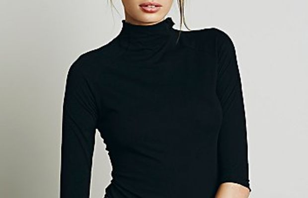 Free People Modern mock neck, $40, available at Free People