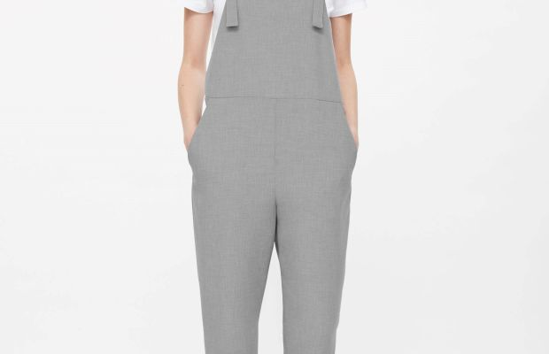 Melange Dungarees, $150, available at Cos.